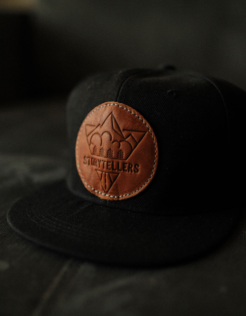 THE LEATHER PATCH CAP